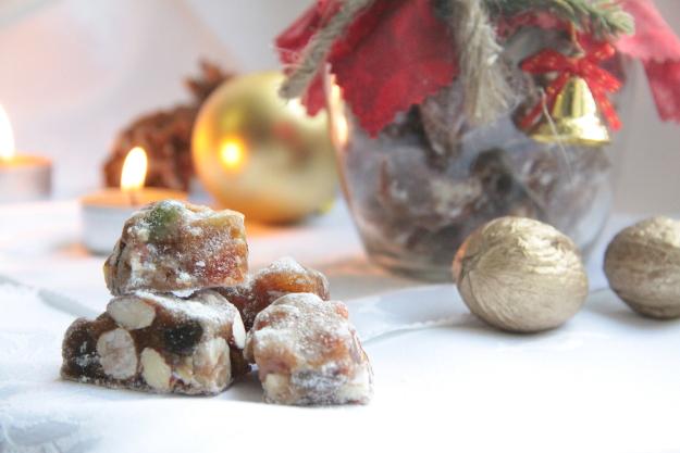 Итальянский рождественский десерт — панфорте