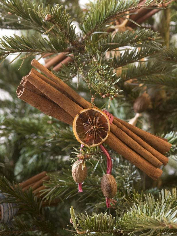 ароматные украшения на елку
