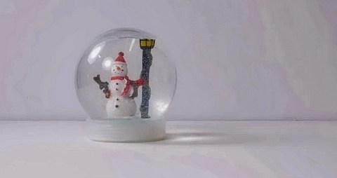 Делаем рождественский шар со снегом своими руками. Так здорово!