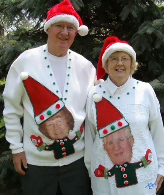 смешной костюм на новый год