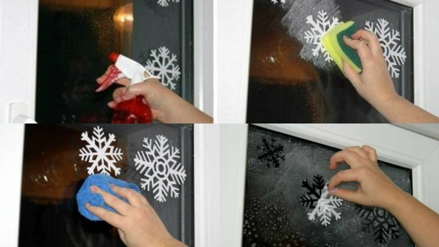 снежинки на окнах2