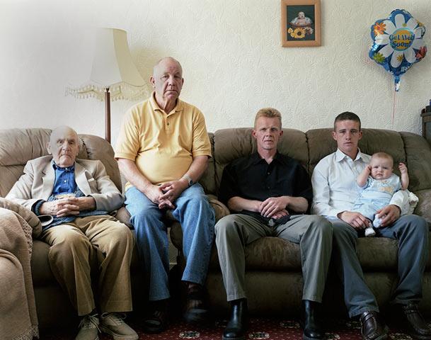 Джон Оуэн 92, Джеральд Оуэн 67, Стивен Оуэн 40, Крис Оуэн 21, Конна Оуэн 6 месяцев