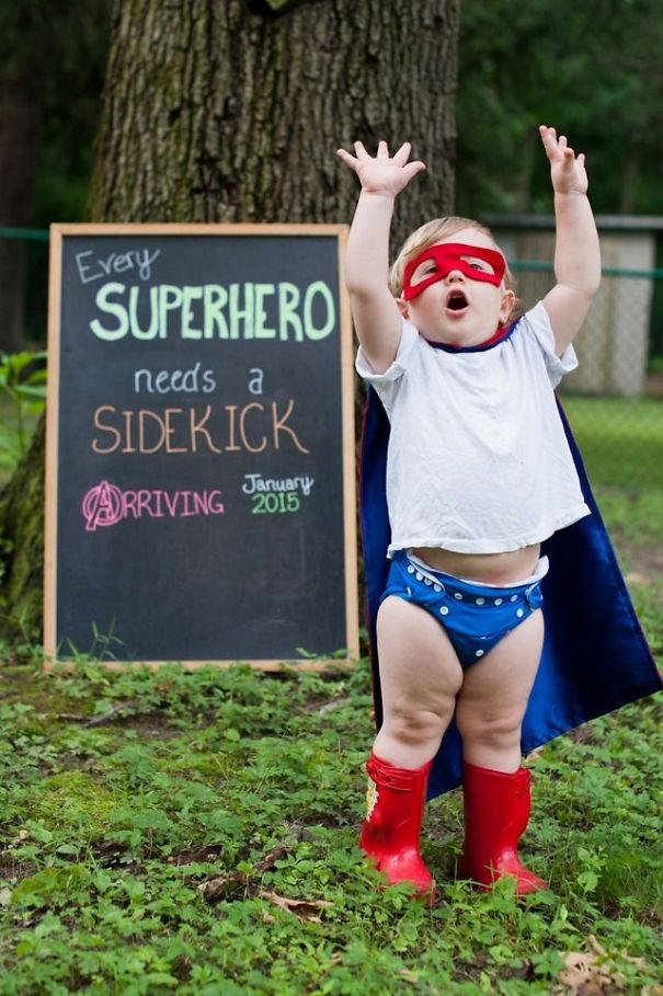 Каждому супергерою нужен лучший друг!