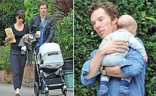В июне Бенедикт Камбербэтч или Шерлок стал отцом малыша Кристофера2