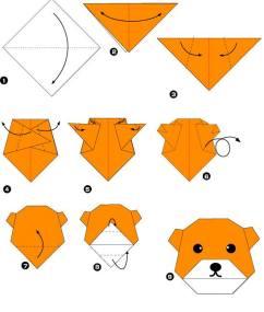 Простые схемы оригами для творчества с детьми