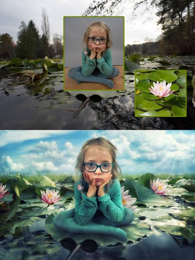 Джон вильгельм фотографирует детей