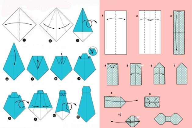 Как сделать открытку папе рубашку с галстуком поэтапно