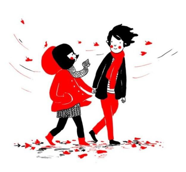...гулять в ветренную погоду