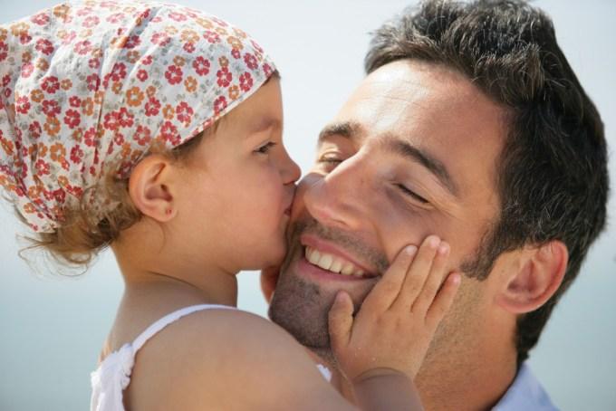отец со своей дочкой