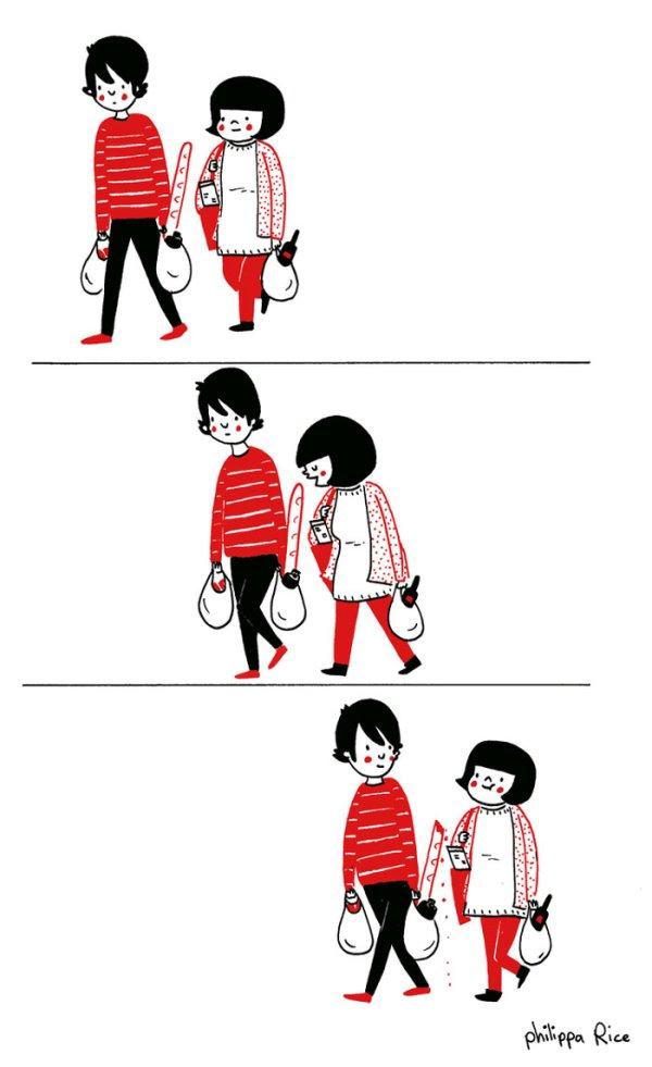 ...совмесный поход за покупками