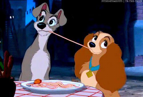 Спагетти - отличный способ наладить отношения