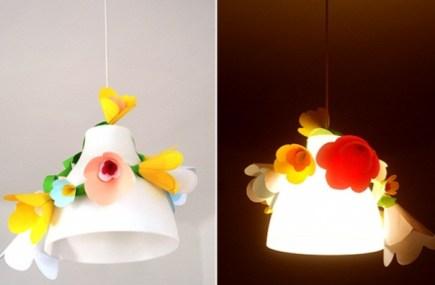 Цветочная гирлянда, которая добавит весны в вашем доме