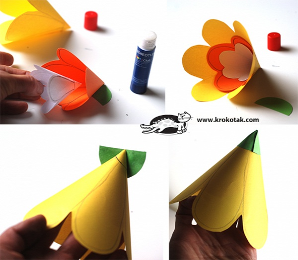 цветочная гирлянда своими руками