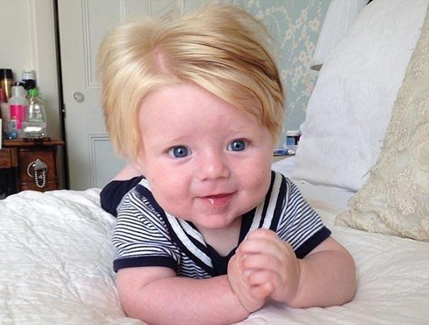 дети блондины
