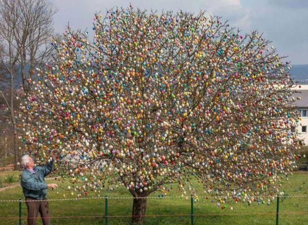 пасхальное дерево в германии