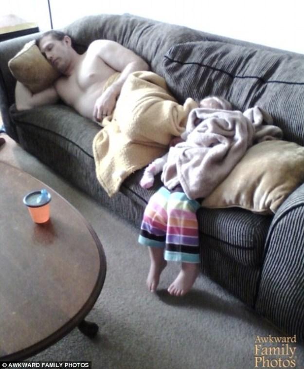 смешные фотографии пап и детей