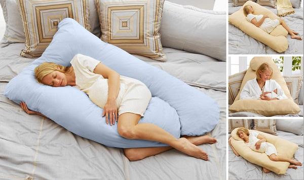 Воспользуйтесь специальной подушкой для беременных, и ваше состояние во время сна заметно улучшится