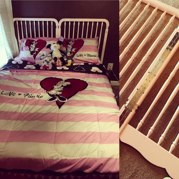 что можно сделать из детской кроватки
