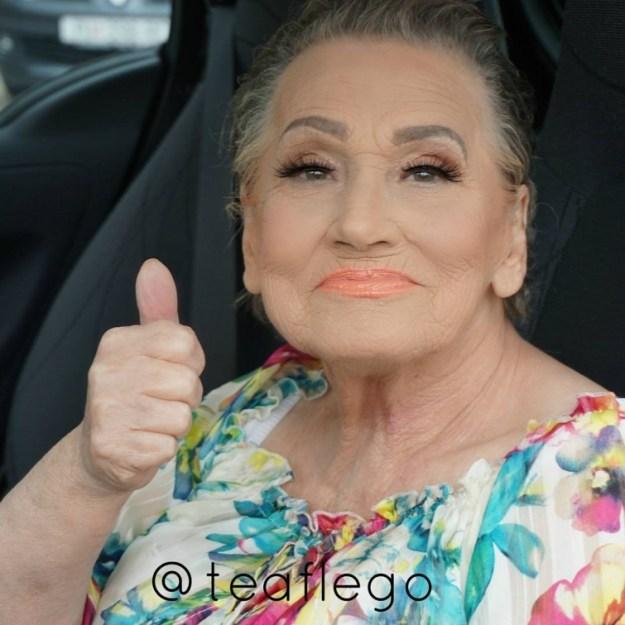 макияж для бабушки