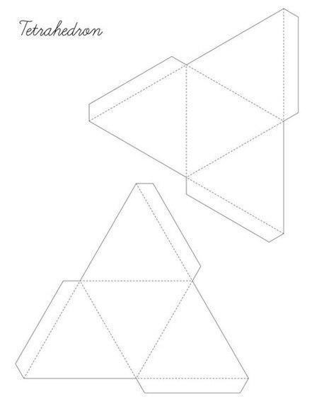оригами геометрические фигуры
