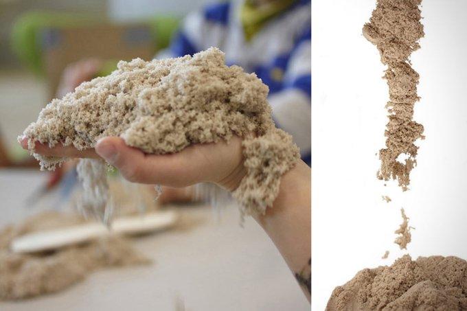 сенсорный песок