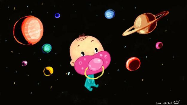 маня в космосе