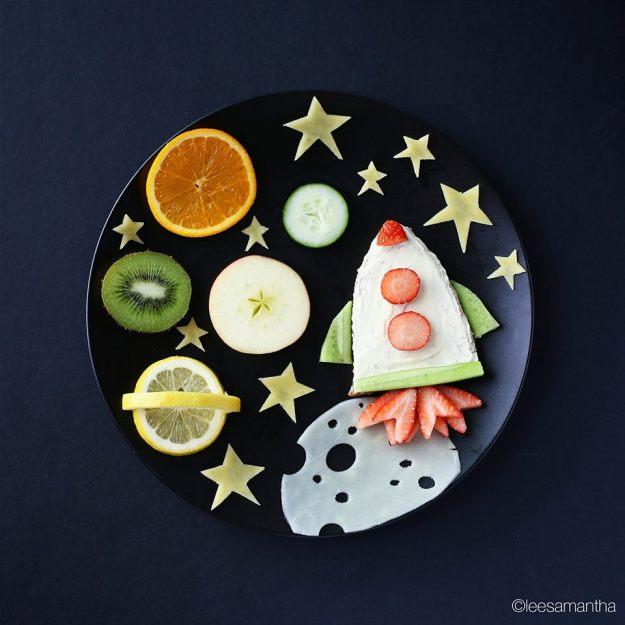 космическая тарелка от саманты ли
