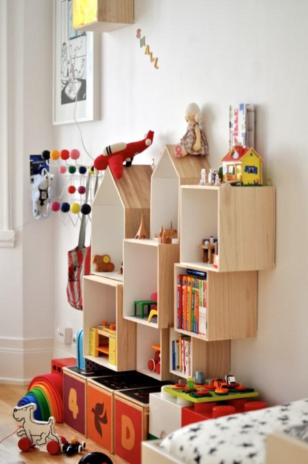 подвесные ящики для игрушек