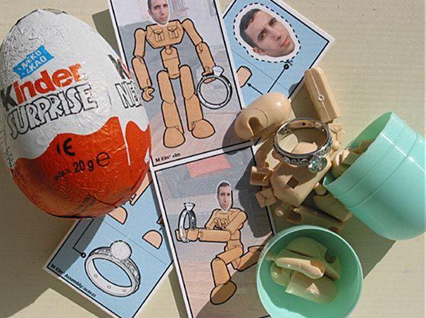 Милое предложение с уникальной игрушкой из Киндера