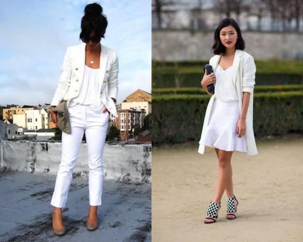 Не бойтесь покупать белые брюки и юбки - это очень красиво