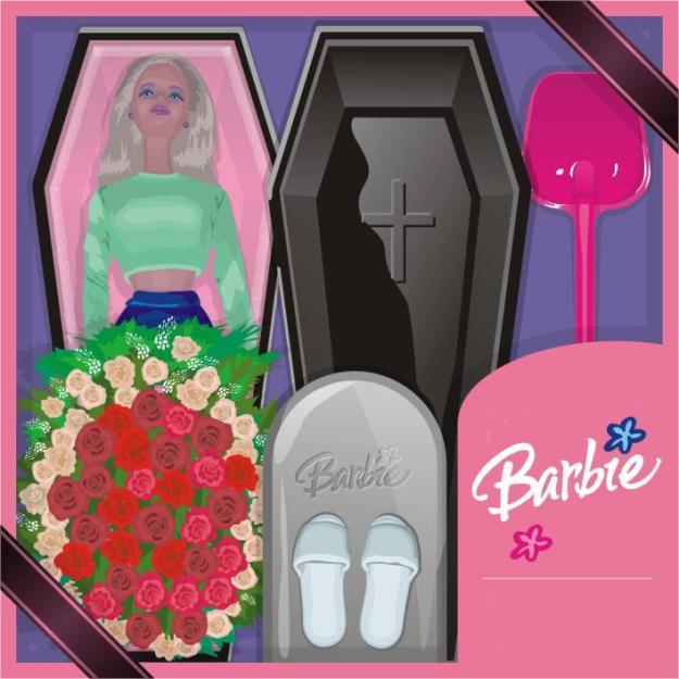 Похоронный набор Барби