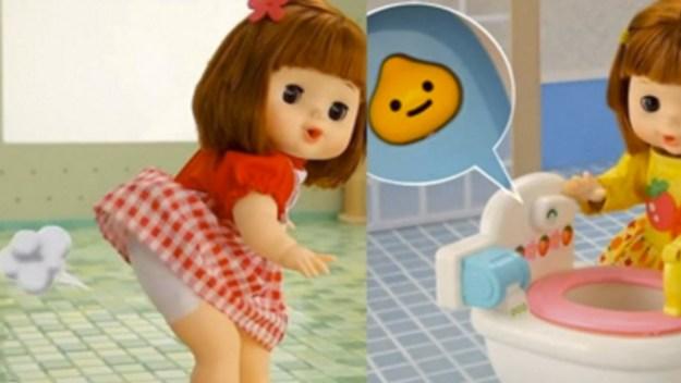 Пукающая кукла. Нажимаешь ей на живот, и вместо плача или смеха слушишь это...