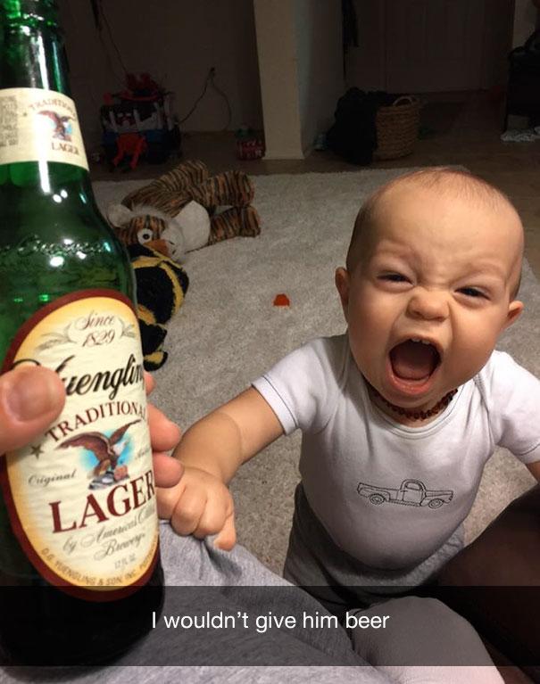 Я не дал ему пиво