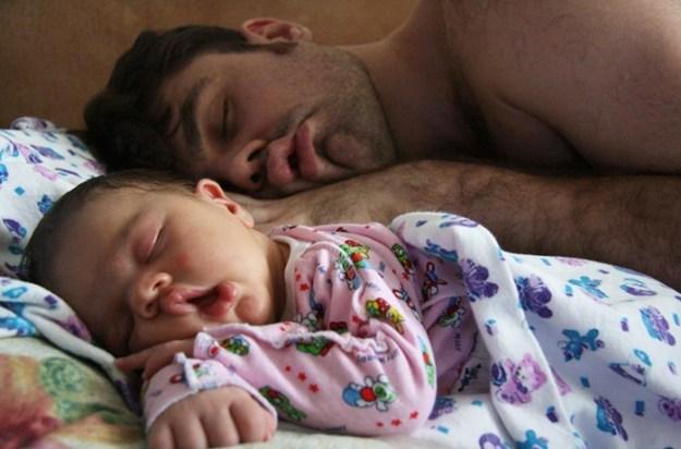 дети и папа