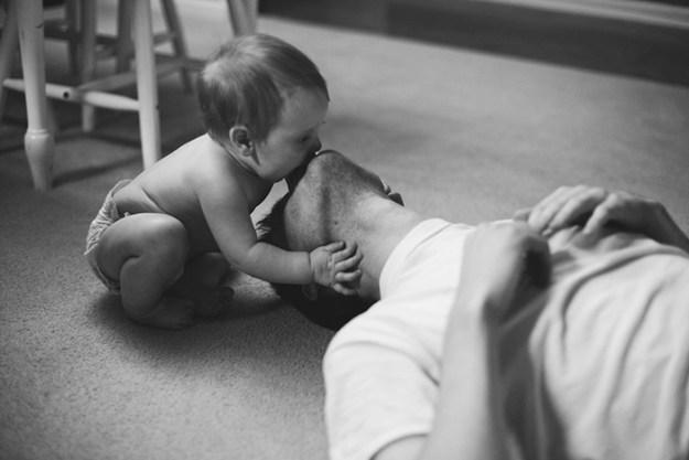 дочка и папа