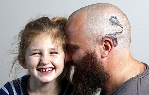 папа поддержал дочь