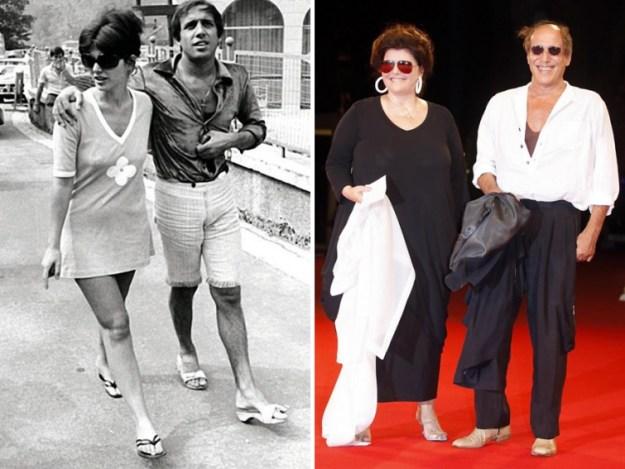 Адриано Челентано и Клаудиа Мори, 51 год вместе