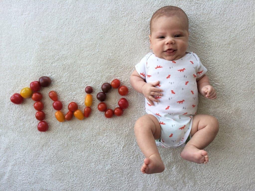 Фотосессия малыша: вкусно и полезно