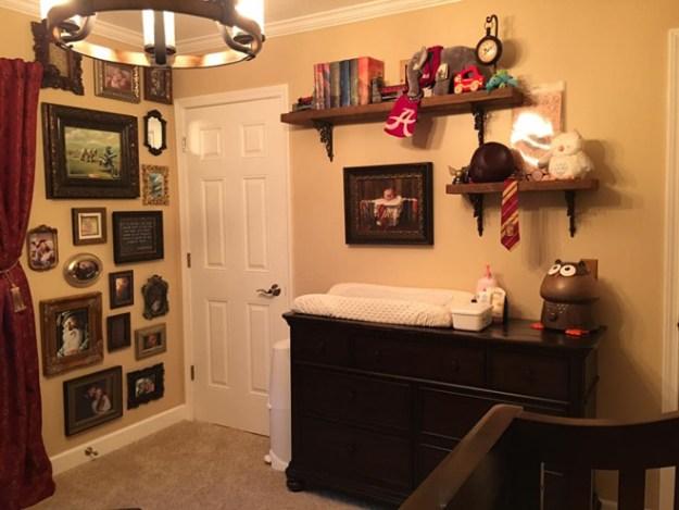 комната в стиле гарри поттера