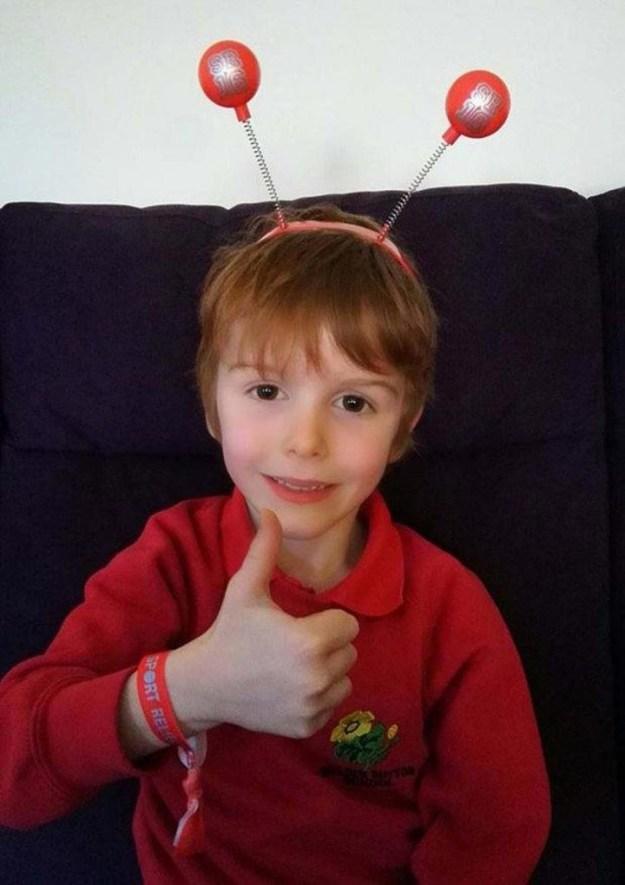 мальчик пожертвовал деньги в хоспис