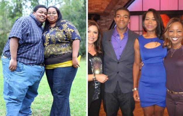 Эта пара за 2 года избавилась от 226 кг на двоих