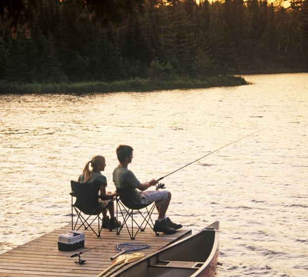 На рассвете отправьтесь на рыбалку