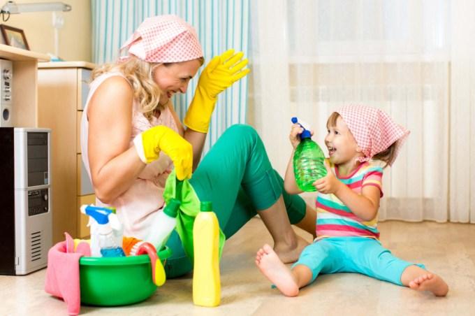 какие домашние обязанности должны быть у детей