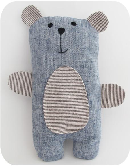 серый медвежонок