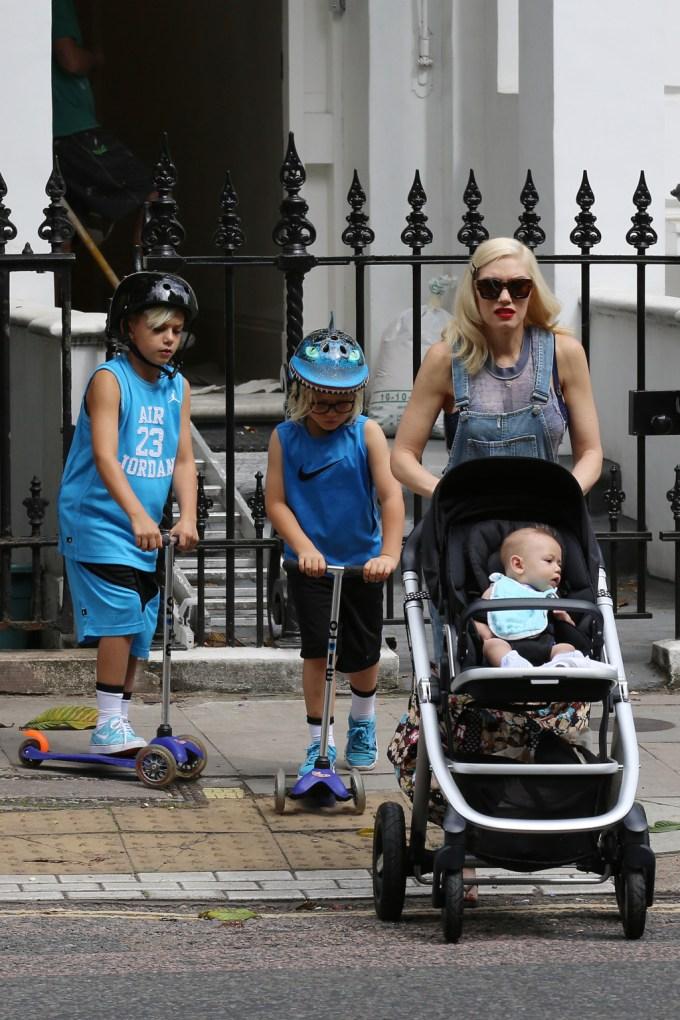 London Celebrity Sightings - July 22, 2014
