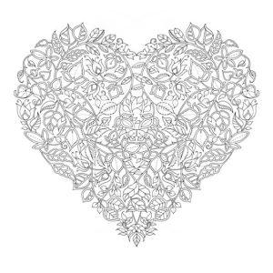 святой валентин раскраски