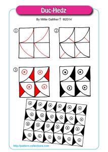 Как рисовать зентангл