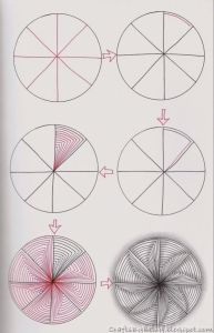 3д рисунки на бумаге