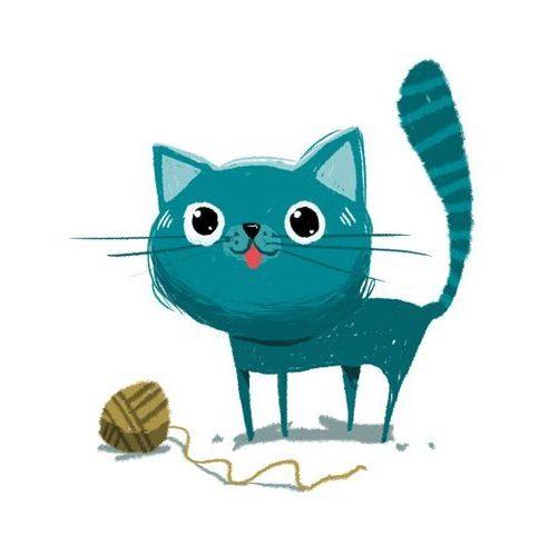 коты для срисовки