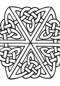 Celtic Art - Coloring Pages for Adults0